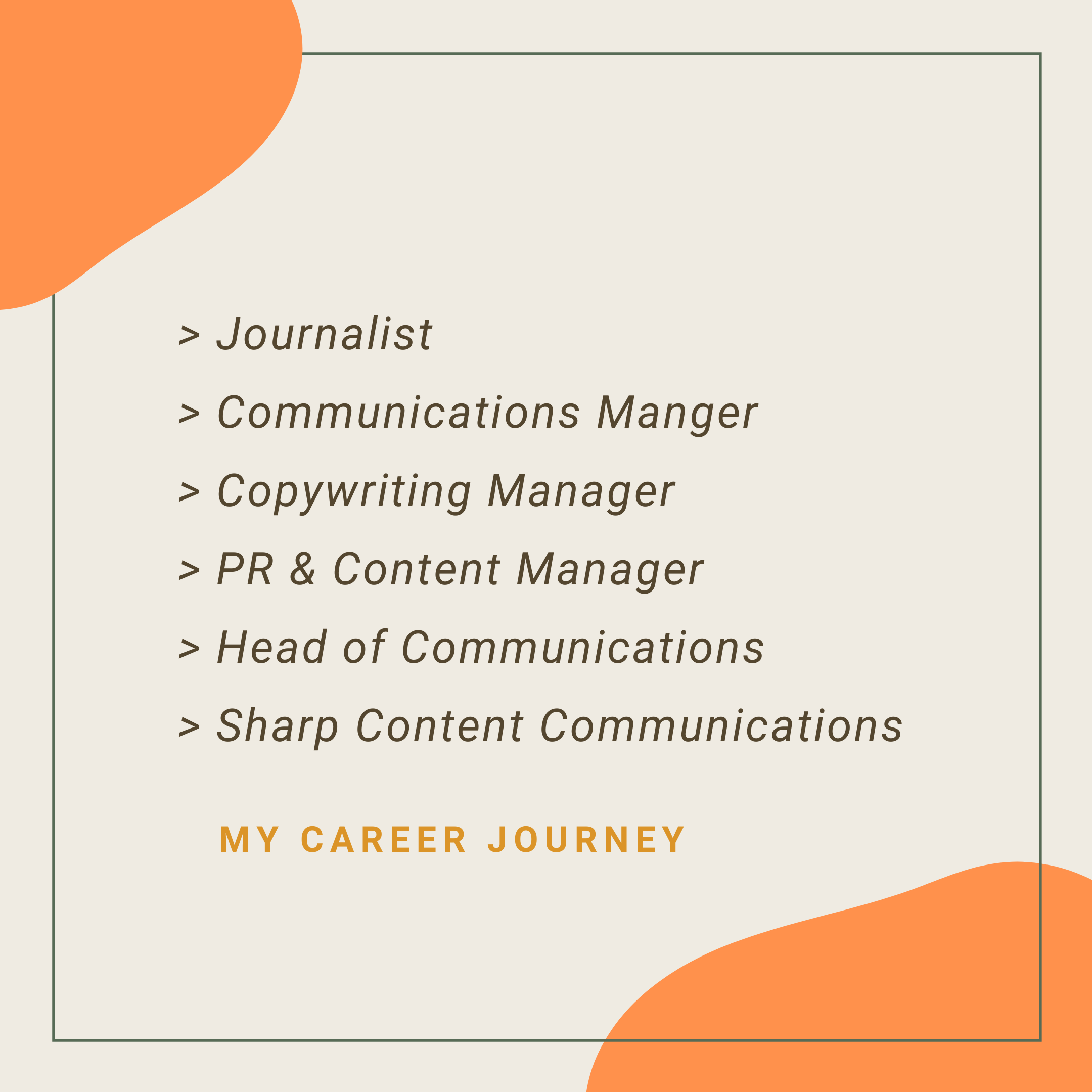 Content marketing and Communications support